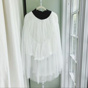Romantic Layered Tulle Skirt, one size fits all
